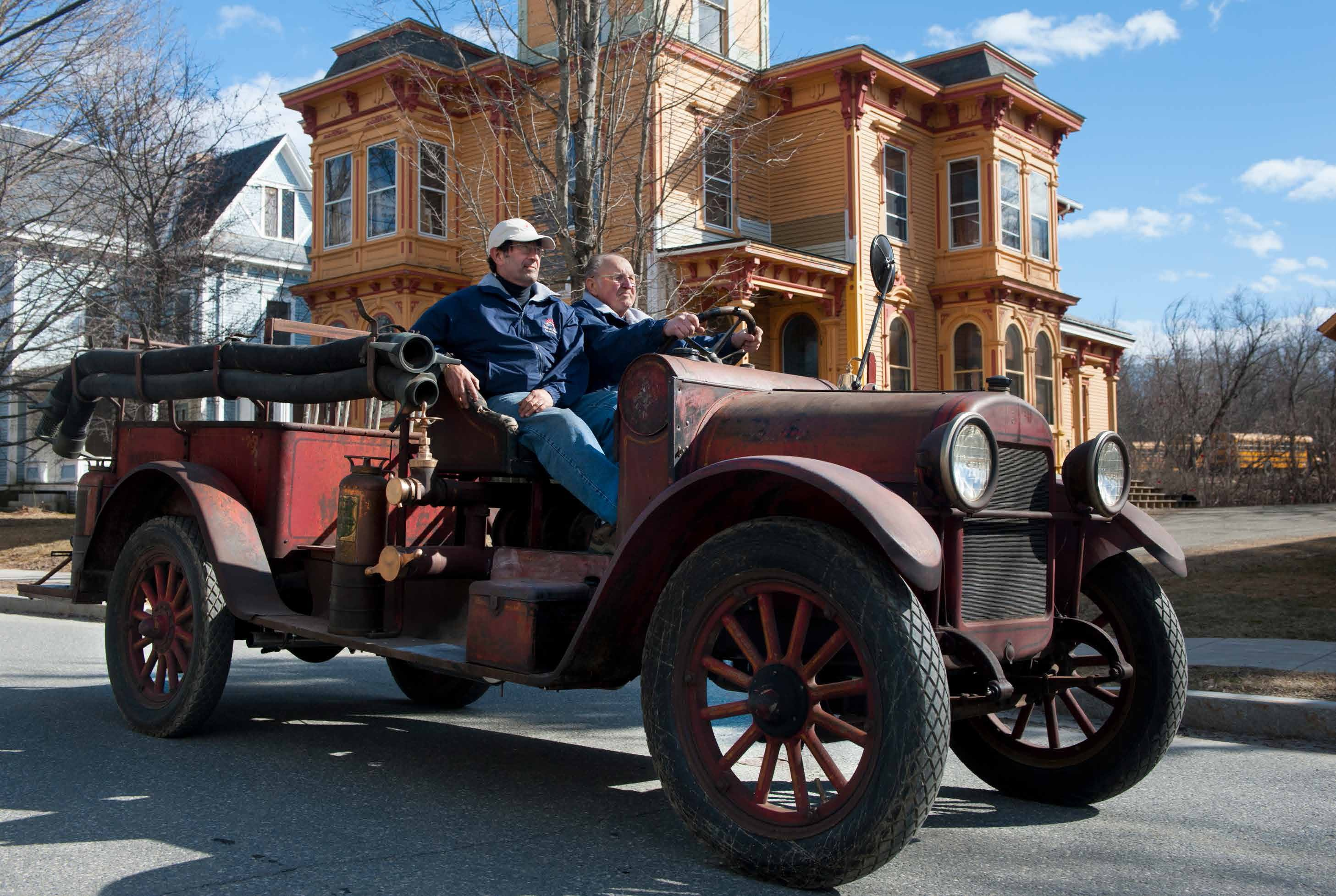 Historic Fire Truck Finds Its Way Home | The Herald of Randolph